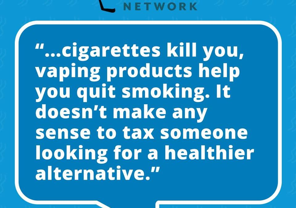 "Imposing a ""Sin Tax"" on Vapor Products"